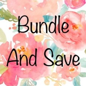 Bundle 3+ items for 10% off!!